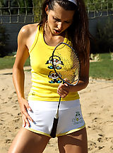 Sporty Playful Anne Plays With Blue Angel Outside - 4/16/2013