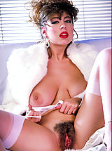 First ever release of a stunning photo shoot of this legend of the sex vid screen, Christy Canyon..
