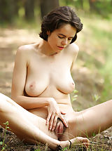 Burning Vagina, Sexy milf Rimma in the wild naked and beautifully hypnotic and seductive